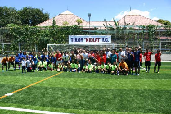 Tuloy Sa Don Bosco Foundation XO  Football Field