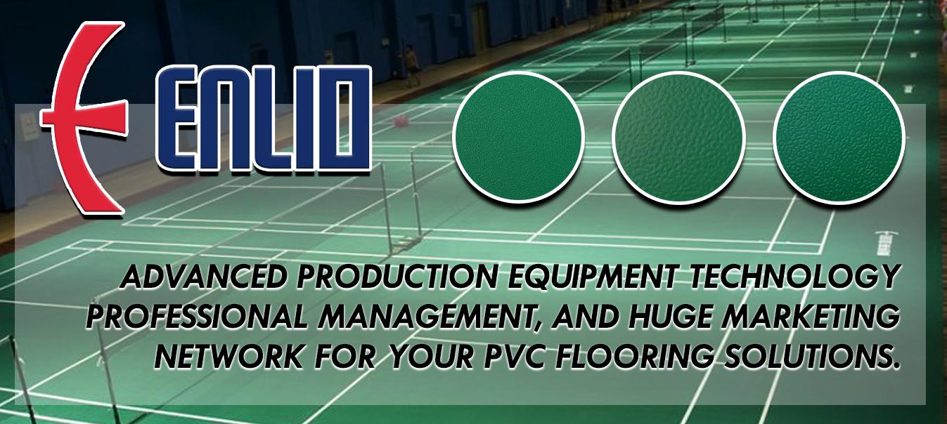 Enlio PVC Sports Flooring