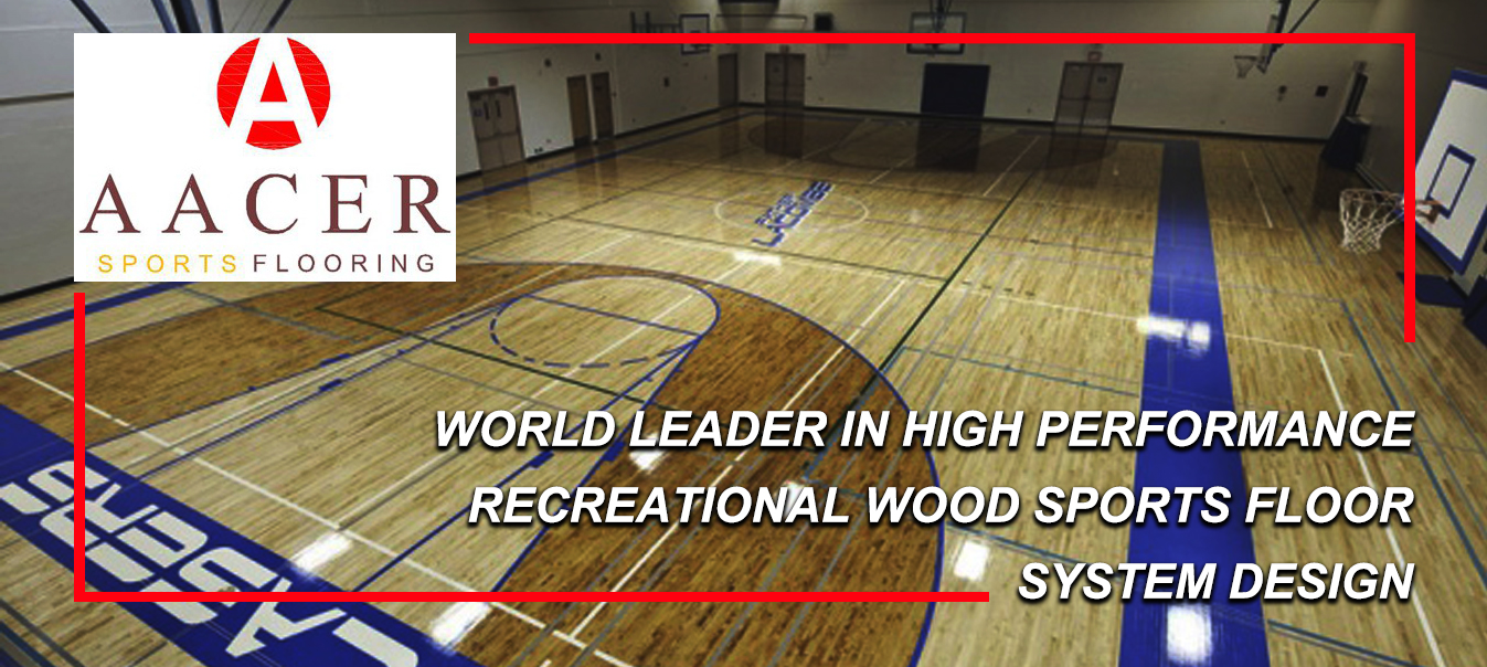 Aacer Maple Hardwood Sports Surface