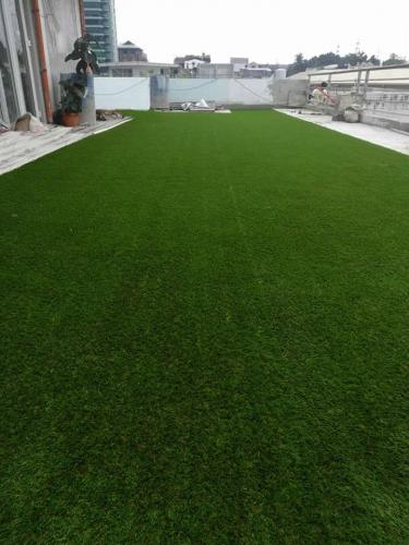 ARTIFICIAL TURF IN ROOFDECK AT BRGY. POBLACION, MAKATI CITY
