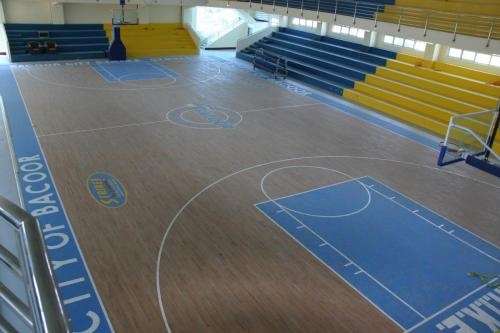 S.T.R.I.K.E GYM, BACOOR CAVITE HARDWOOD SURFACE